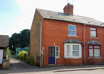 Thumbnail 3 bedroom end terrace house for sale in High Street, Moulton, Northampton