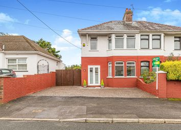 Thumbnail 3 bed semi-detached house for sale in Wimborne Road, Pencoed, Bridgend