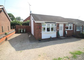 Thumbnail 2 bed semi-detached bungalow for sale in The Roundhills, Elmesthorpe, Leicester