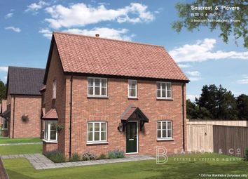 Thumbnail 3 bed semi-detached house for sale in Plot 10, Little Snoring, Norfolk