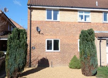Thumbnail 2 bed semi-detached house to rent in Heather Gardens, Bedford
