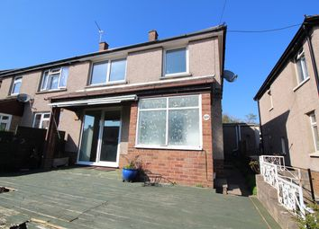 Thumbnail 3 bed property for sale in Underhill Crescent, Abergavenny