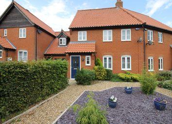 Thumbnail 4 bed semi-detached house for sale in Eddington Way, Easton, Norwich