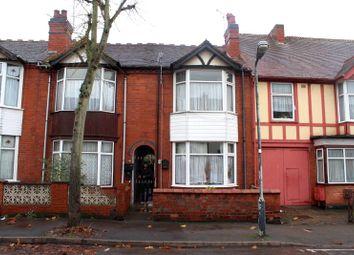 Thumbnail 4 bed terraced house for sale in Bracebridge Street, Nuneaton, Warwickshire