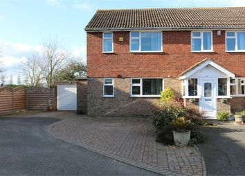 Thumbnail 2 bed semi-detached house for sale in 13 Manor Close, Langtoft, Peterborough, Lincolnshire