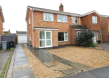 Thumbnail 3 bed semi-detached house for sale in The Orchard, Market Deeping, Lincolnshire