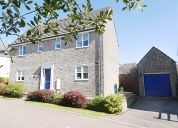 Thumbnail 4 bed detached house for sale in Lingard Close, Liskeard, Cornwall