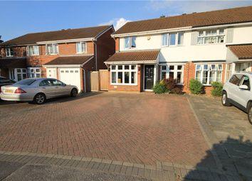 3 bed semi-detached house for sale in Tyler Gardens, Addlestone, Surrey KT15