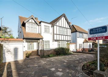 Thumbnail 4 bed detached house for sale in Old Hatch Manor, Ruislip, Middlesex