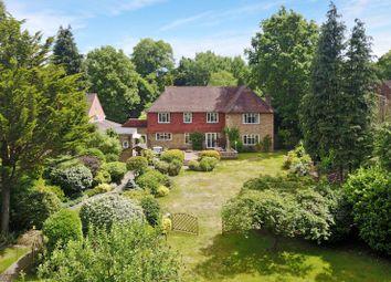 Thumbnail 5 bed detached house for sale in Burwood Road, Burwood Park, Hersham, Walton-On-Thames