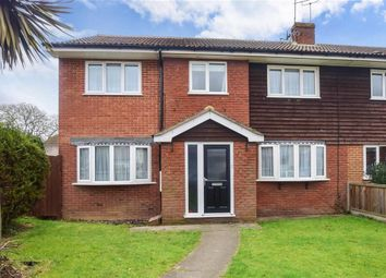 Thumbnail 4 bed semi-detached house for sale in Herne Bay Road, Whitstable, Kent