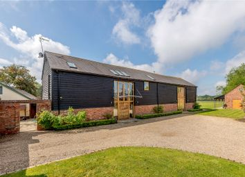 Thumbnail 4 bedroom barn conversion for sale in Bracknell Road, Brock Hill, Warfield, Berkshire
