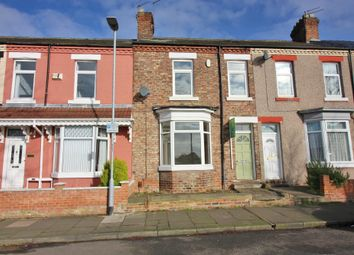 Thumbnail 3 bed terraced house for sale in Waverley Terrace, Darlington, County Durham