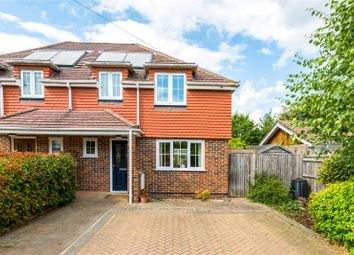 Thumbnail 3 bed semi-detached house for sale in Byworth Road, Farnham, Surrey