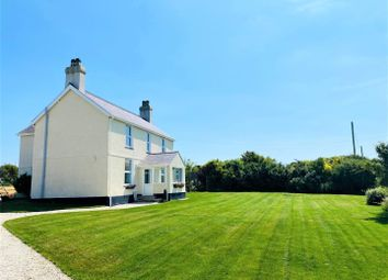 Thumbnail 4 bed detached house for sale in Aberdaron, Pwllheli
