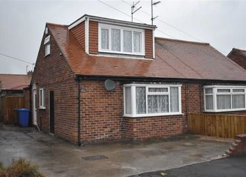 Thumbnail 2 bed semi-detached bungalow for sale in Bempton Crescent, Bridlington