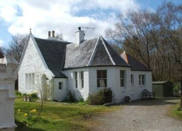 Thumbnail 2 bed detached house for sale in The Gatehouse, Skeabost, Isle Of Skye