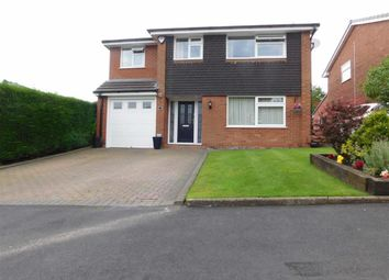 Thumbnail 4 bedroom detached house for sale in Crompton Close, Marple, Stockport