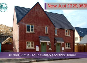 Thumbnail 3 bed semi-detached house for sale in The Bullfinch, Heyford Meadows, Hankelow