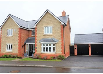 Thumbnail 4 bed detached house for sale in Fallow Field, Honeybourne