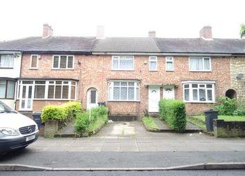 Thumbnail 3 bedroom terraced house for sale in Brookvale Park Road, Erdington