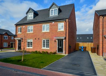 Thumbnail 4 bed semi-detached house for sale in Hewer Court, Halfway, Sheffield