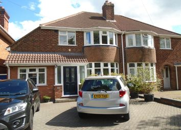 Thumbnail 3 bed semi-detached house for sale in Rowlands Road, Yardley, Birmingham