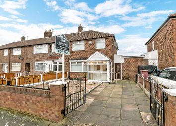 Thumbnail 3 bed end terrace house for sale in Weyman Avenue, Whiston, Prescot