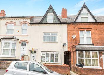 Thumbnail 4 bed terraced house for sale in Algernon Road, Edgbaston, Birmingham