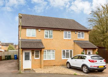 Thumbnail 3 bed semi-detached house for sale in Purslane Drive, Bicester