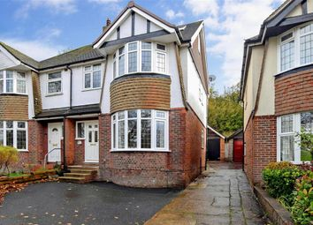 Thumbnail 4 bed semi-detached house for sale in Mackie Avenue, Patcham, Brighton, East Sussex