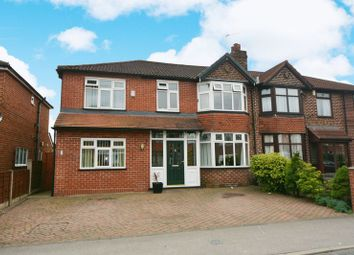 Thumbnail 4 bed semi-detached house for sale in Merwood Avenue, Heald Green, Cheadle