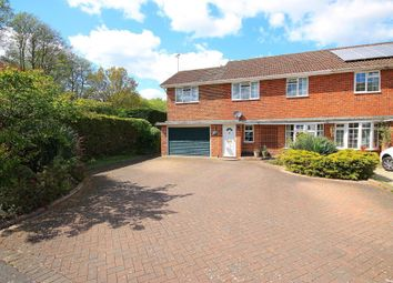 Thumbnail 4 bed semi-detached house for sale in Gloucester Close, Frimley Green, Camberley