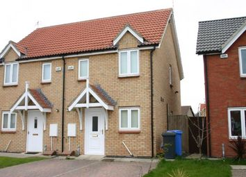 Thumbnail 2 bedroom semi-detached house to rent in Maple Drive, Widdrington, Morpeth