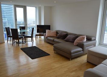 Thumbnail 2 bed flat to rent in Ability Place, 37 Millharbour, Cross Harbour, Canary Wharf, South Quay, London