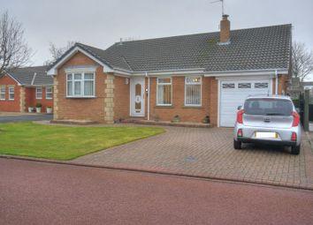 Thumbnail 2 bedroom bungalow for sale in Rowan Close, Bedlington