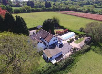 Thumbnail 6 bed detached house for sale in Kelvin House, Bridgwater Road, Winscombe