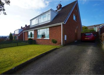 Thumbnail 3 bed semi-detached house for sale in Sherwood Road, Bangor