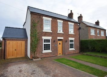 Thumbnail 3 bed detached house for sale in Matlock Road, Wessington, Alfreton, Derbyshire