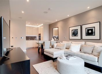 Thumbnail 1 bed flat for sale in Glacier House, The Residence, Ponton Road, London