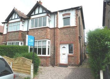 Thumbnail 3 bed semi-detached house to rent in Cleveland Road, Hale