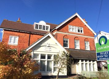 Thumbnail 1 bed flat to rent in Sedlescombe Road South, St. Leonards-On-Sea