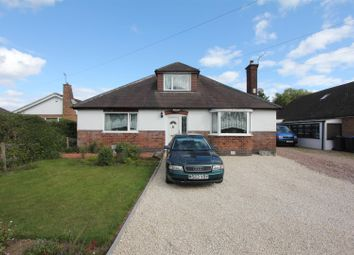 Thumbnail 5 bed detached bungalow for sale in Kirkby Road, Barwell, Leicester