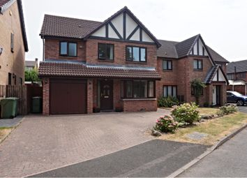Thumbnail 4 bed detached house to rent in Marsh Way, Bromsgrove