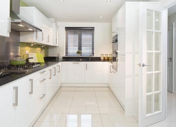 "Thumbnail 3 bed semi-detached house for sale in ""Leeman"" at Hyde End Road, Spencers Wood, Reading"