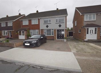 Thumbnail 3 bed semi-detached house for sale in Balstonia Drive, Stanford Le Hope, Essex
