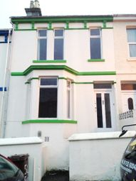 Thumbnail 4 bed town house to rent in Furzehill Road, Mutley, Plymouth