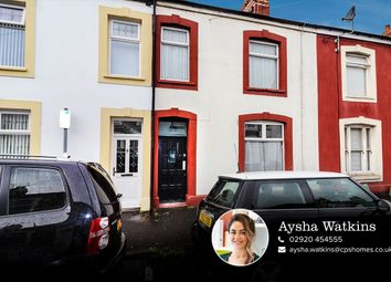 Thumbnail 3 bedroom terraced house for sale in Newport Street, Cardiff