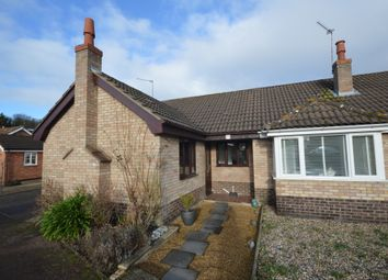 Thumbnail 2 bed semi-detached bungalow for sale in Brambles Close, Spixworth, Norwich