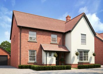 "Thumbnail 5 bed detached house for sale in ""Manning"" at Caistor Lane, Poringland, Norwich"
